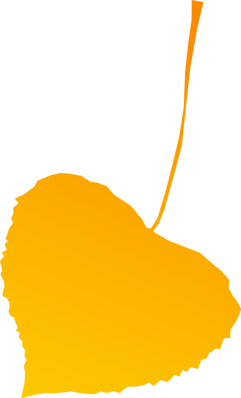 free vector Autumn leaf yellow