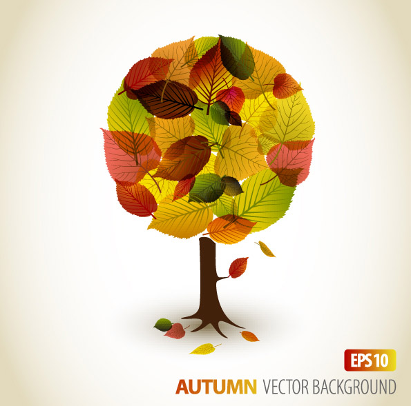 free vector Autumn leaves vector 2 graphic design