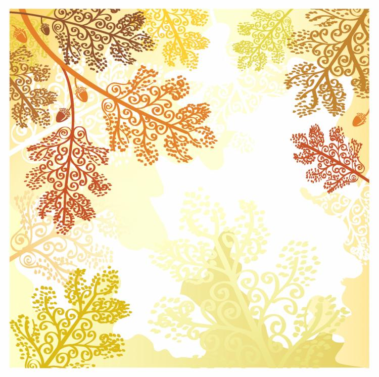 free vector Autumn leaves