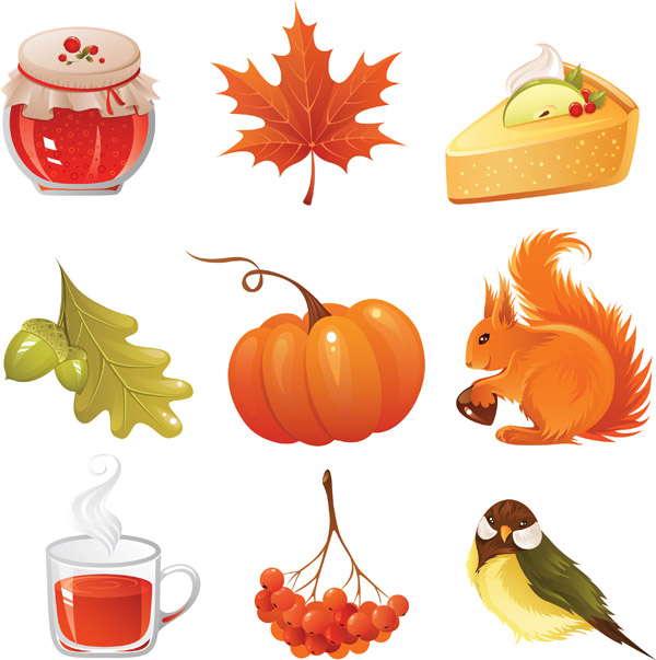free vector Autumn style vector