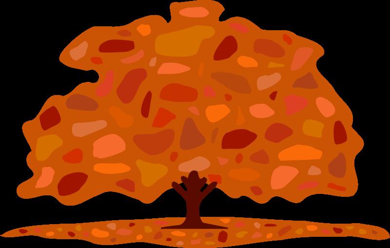 free vector Autumn tree