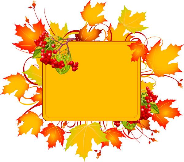 free vector Autumn vector