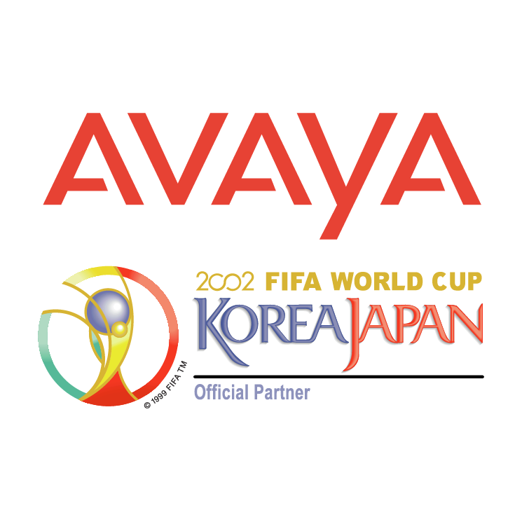 free vector Avaya 2002 world cup sponsor