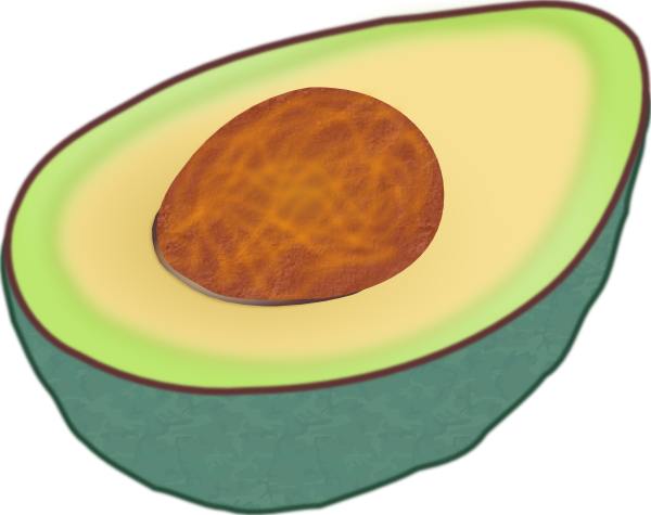 free vector Avocado clip art