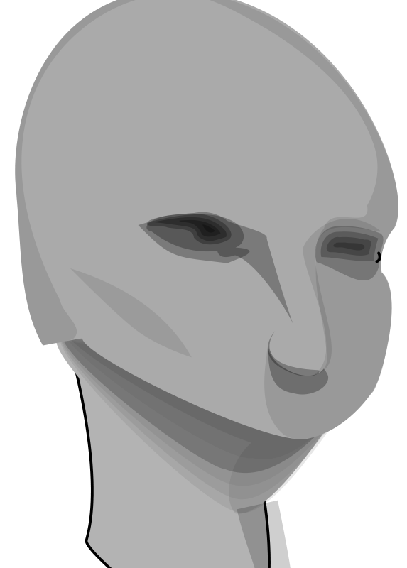 free vector Awesome head
