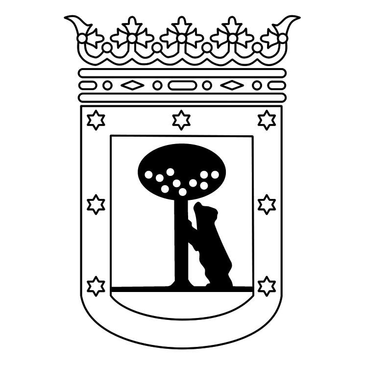 free vector Ayuntamiento de madrid