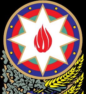 free vector Azerbaidjan gerb