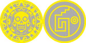 free vector Aztec Gold clip art