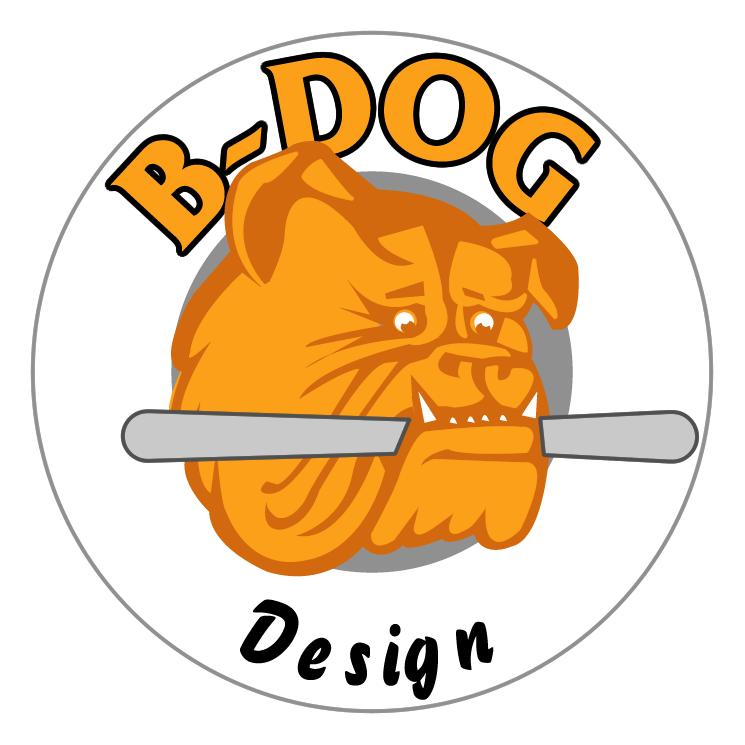 free vector B dog
