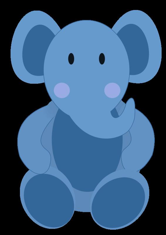 free vector Baby Elephant