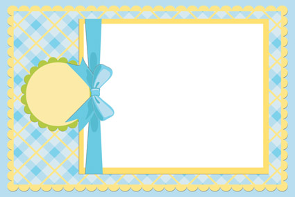 Baby photo frame vector Free Vector / 4Vector