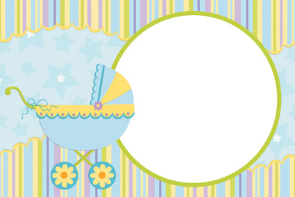 free vector baby photo frame vector