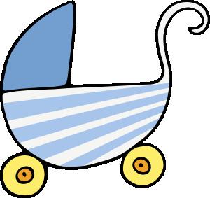 free vector Baby Stroller clip art