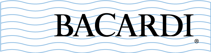free vector Bacardi white logo