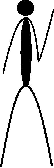 free vector Back Raised Hand clip art