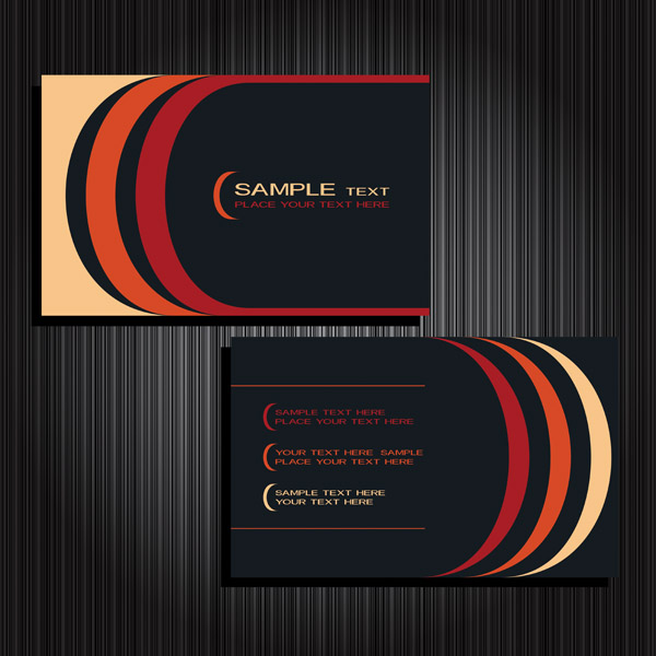Background 2 vector business cards Free Vector / 4Vector