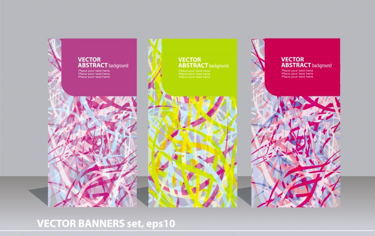 free vector Background clutter lines vector