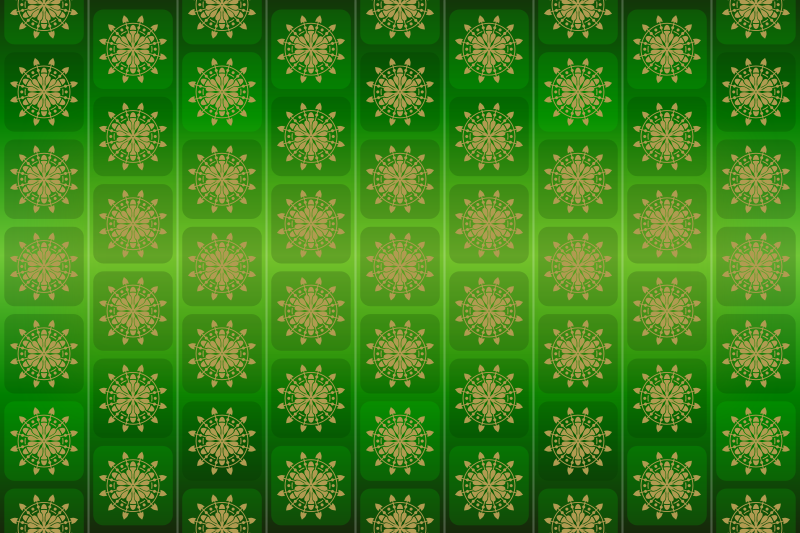 free vector Background Patterns - Emerald