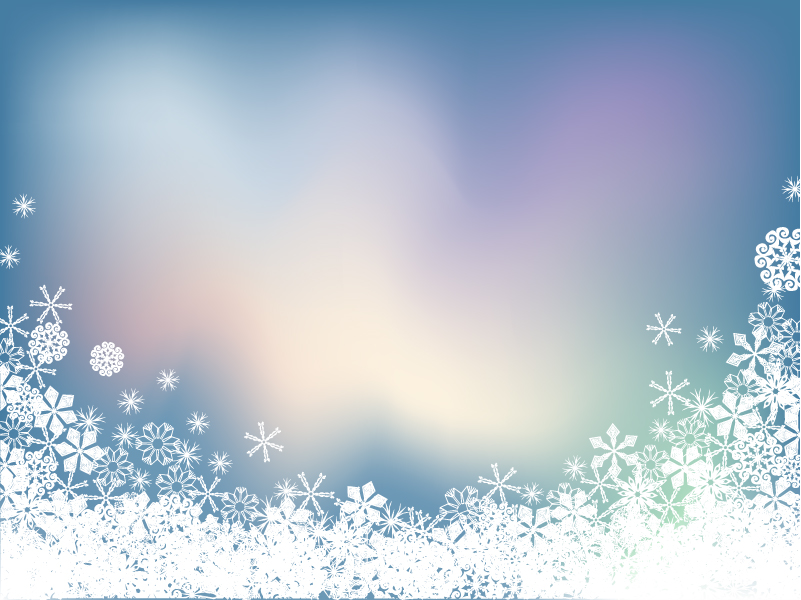free vector Background vector snow symphony