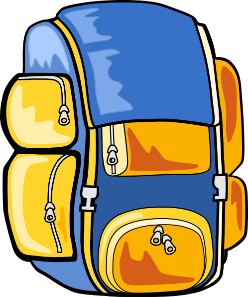 backpack clip art free vector 4vector rh 4vector com backpack clipart images clipart backpack on hook