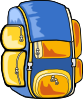 free vector Backpack clip art