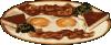 free vector Baconandeggs clip art