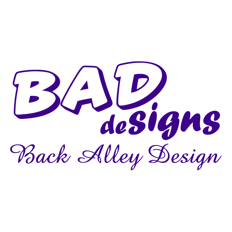free vector Bad designs