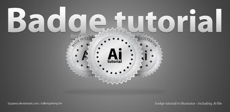 free vector Badge in Illustrator
