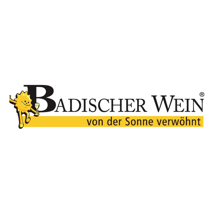 free vector Badischer wein