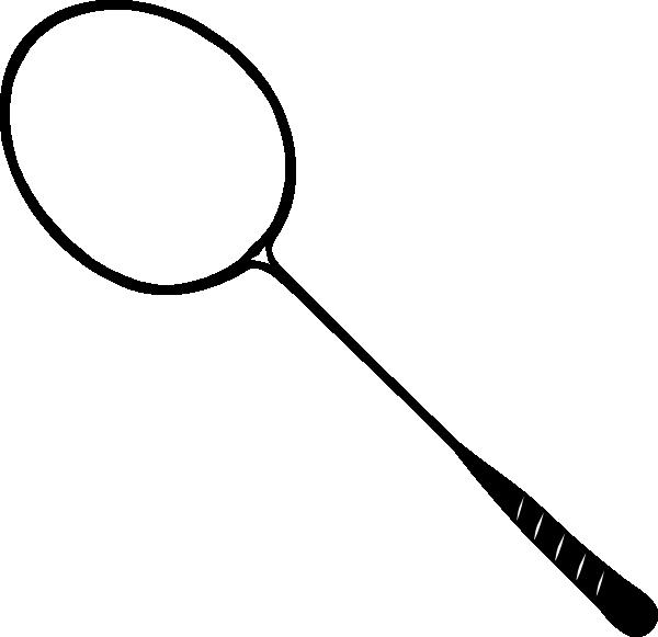 free vector Badminton Racket clip art