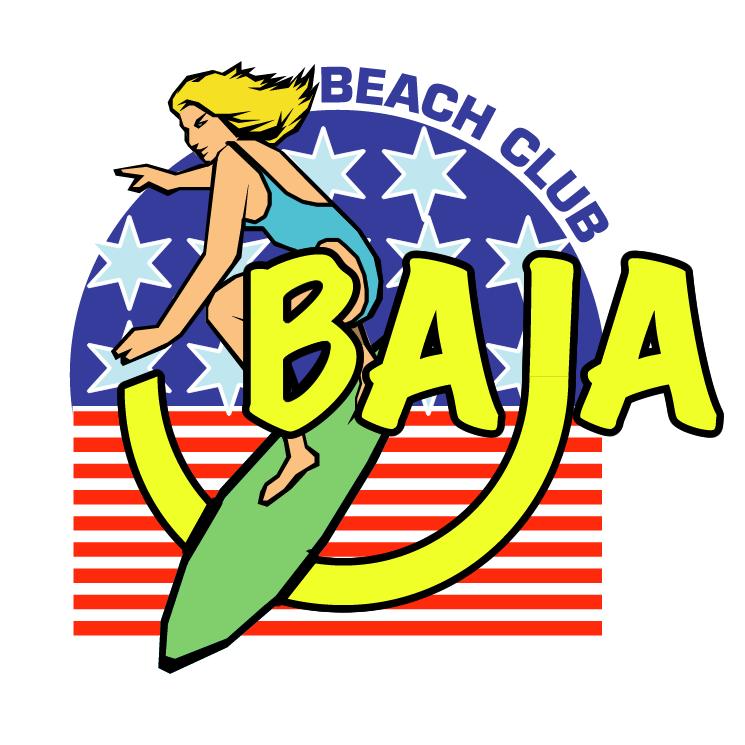free vector Baja beach club