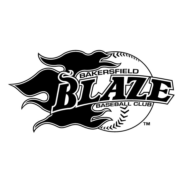 free vector Bakersfield blaze 0