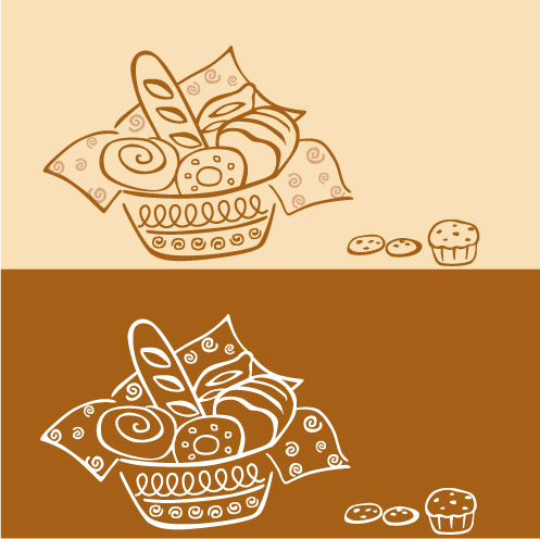 free vector Bakery vector
