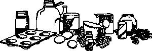 free vector Baking Ingredients clip art