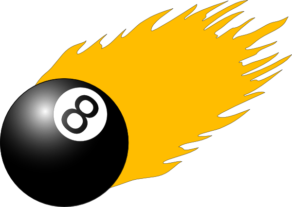free vector Ball With Flames clip art