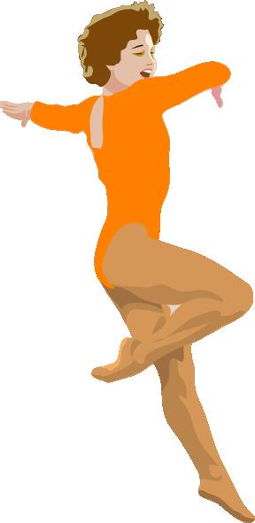 free vector Ballerina clip art