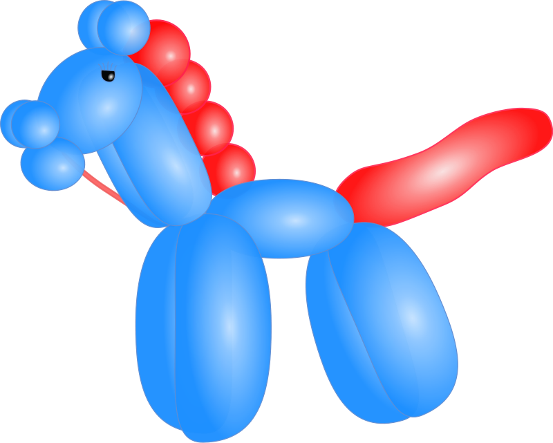 free vector Balloon Horse