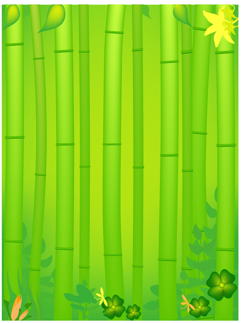 free vector Bamboo plants