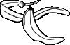 free vector Banana Peel clip art