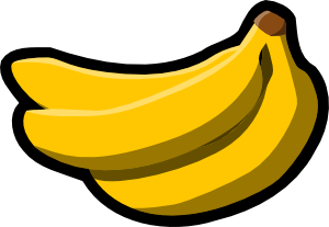 free vector Bananas Icon clip art