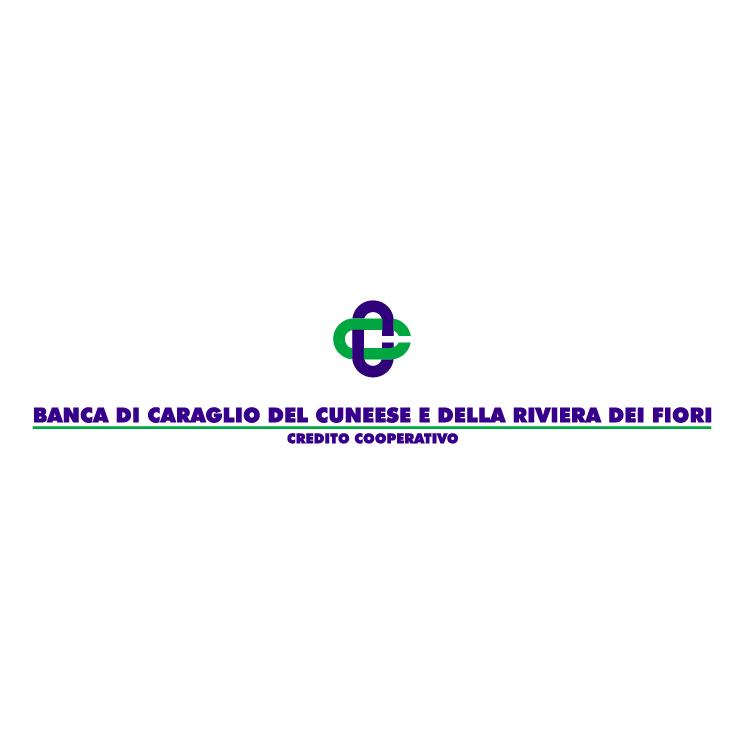 free vector Banca di caraglio del cuneese e della riviera dei fiori