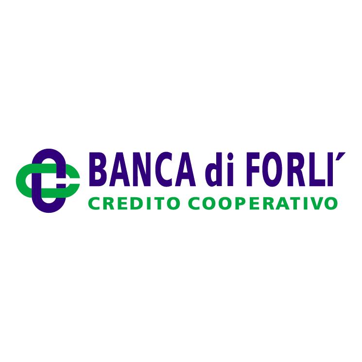 free vector Banca di forli