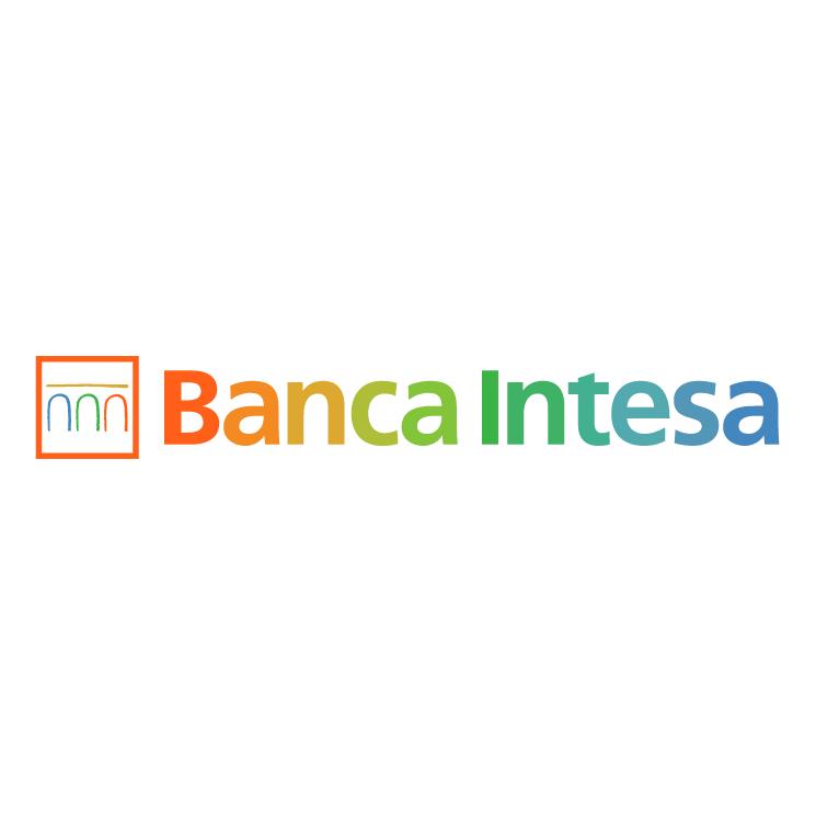 free vector Banca intesa