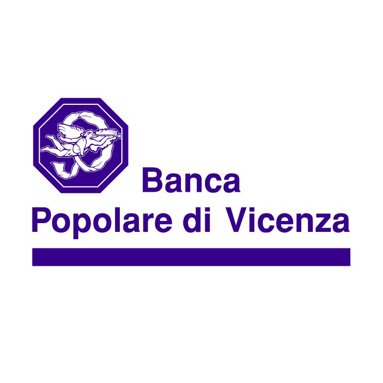 free vector Banca popolare di vicenza