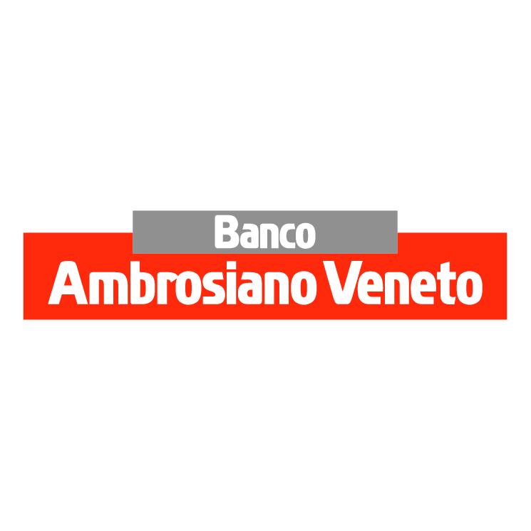 free vector Banco ambrosiano veneto