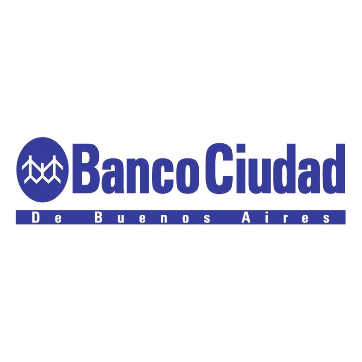 free vector Banco ciudad de buenos aires