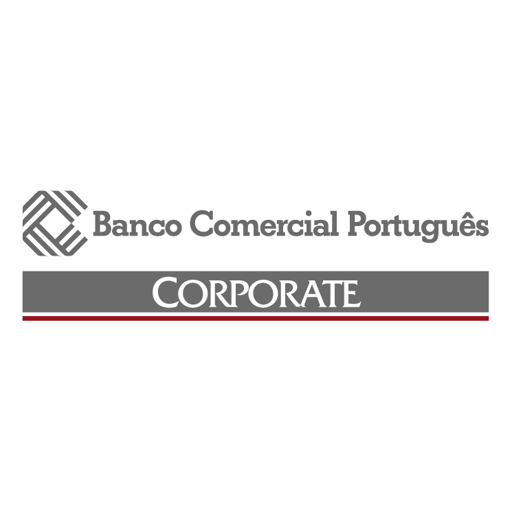 free vector Banco comercial portugues 2