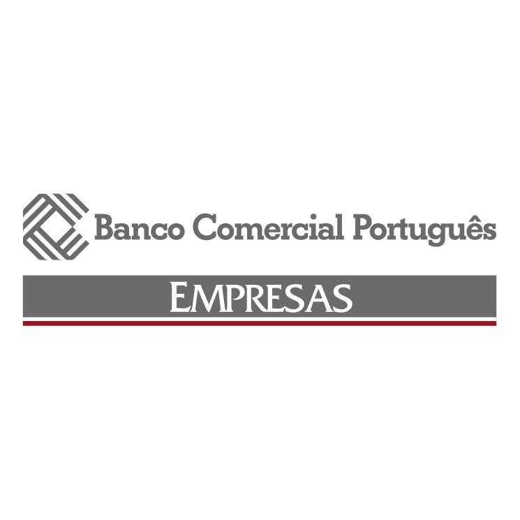 free vector Banco comercial portugues 3