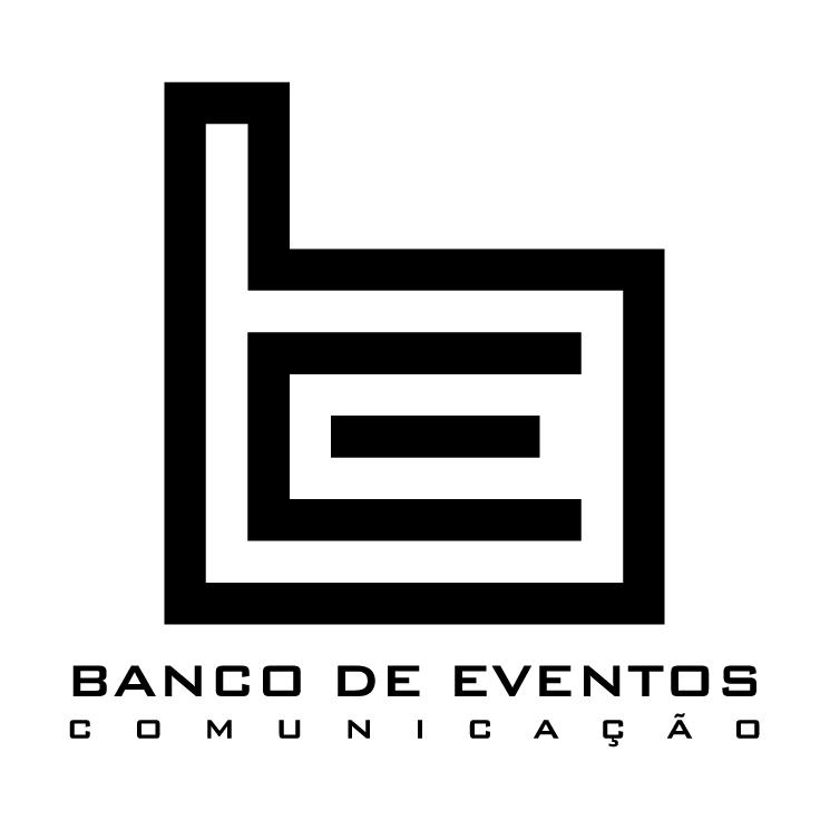 free vector Banco de eventos comunicacao