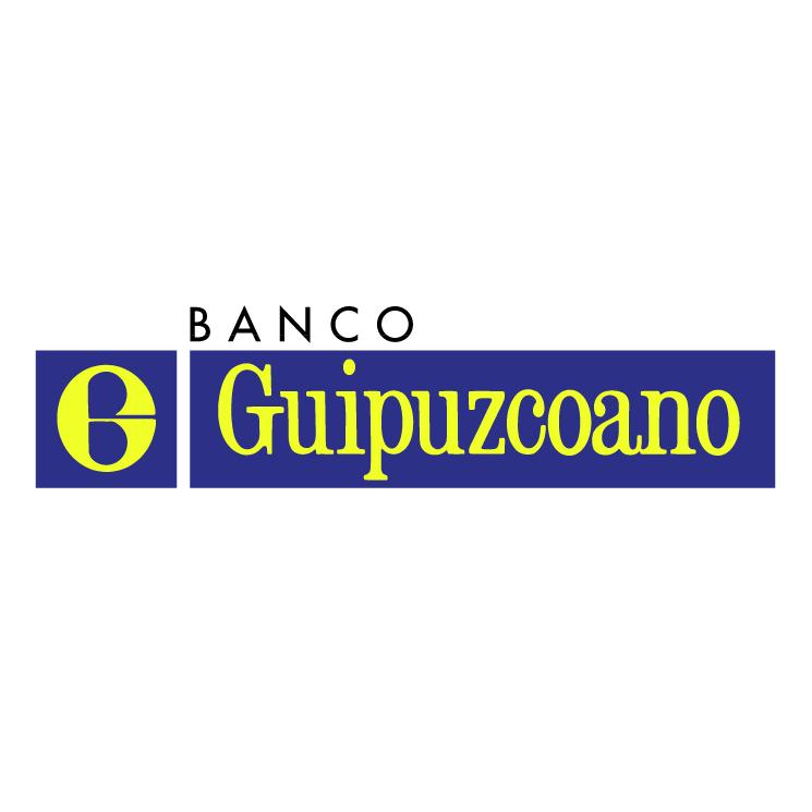free vector Banco guipuzcoano